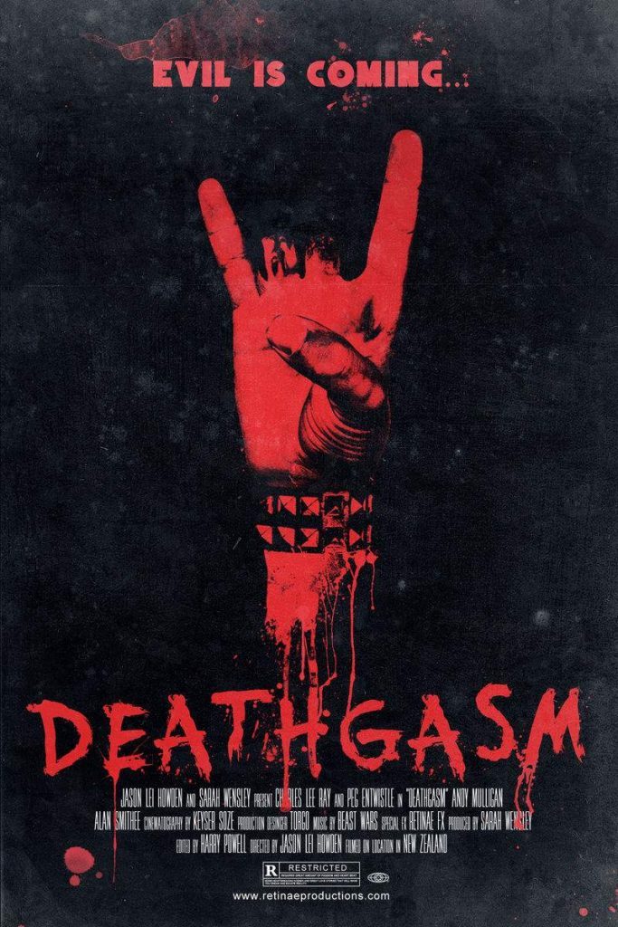 Poster art for Deathgasm. Wal-mart