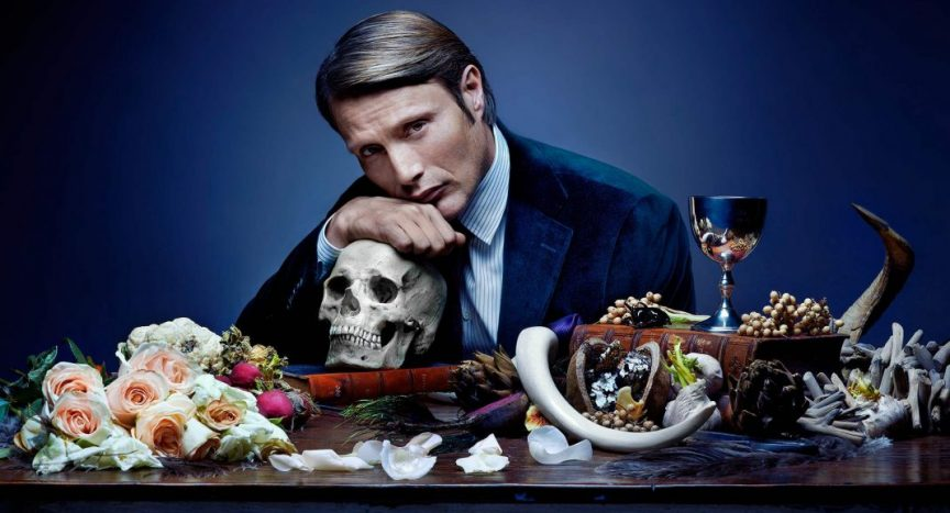 "Guillermo del Toro. Mads Mikkelsen as Dr. Hannibal Lecter on NBC's ""Hannibal"""