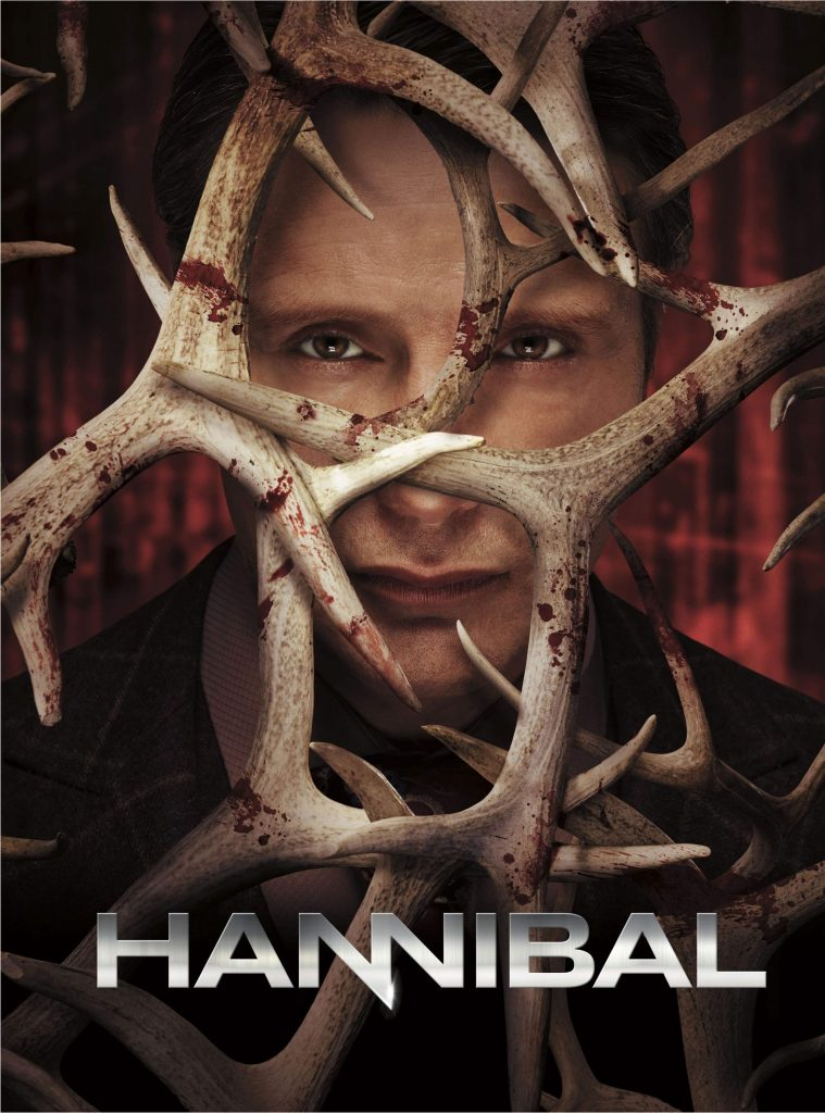 Poster for the NBC drama Hannibal