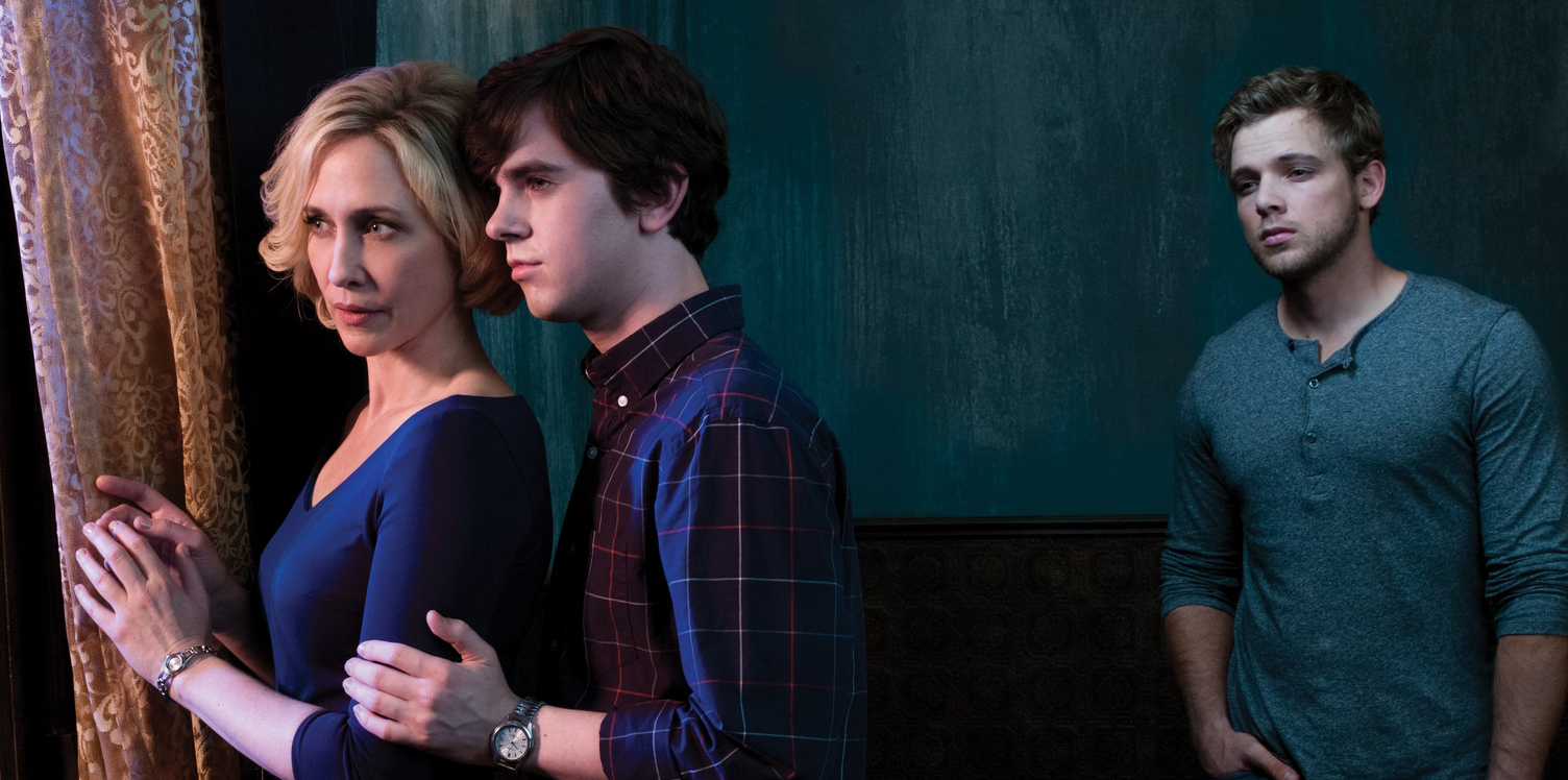 The Bates family in Bates Motel season 3