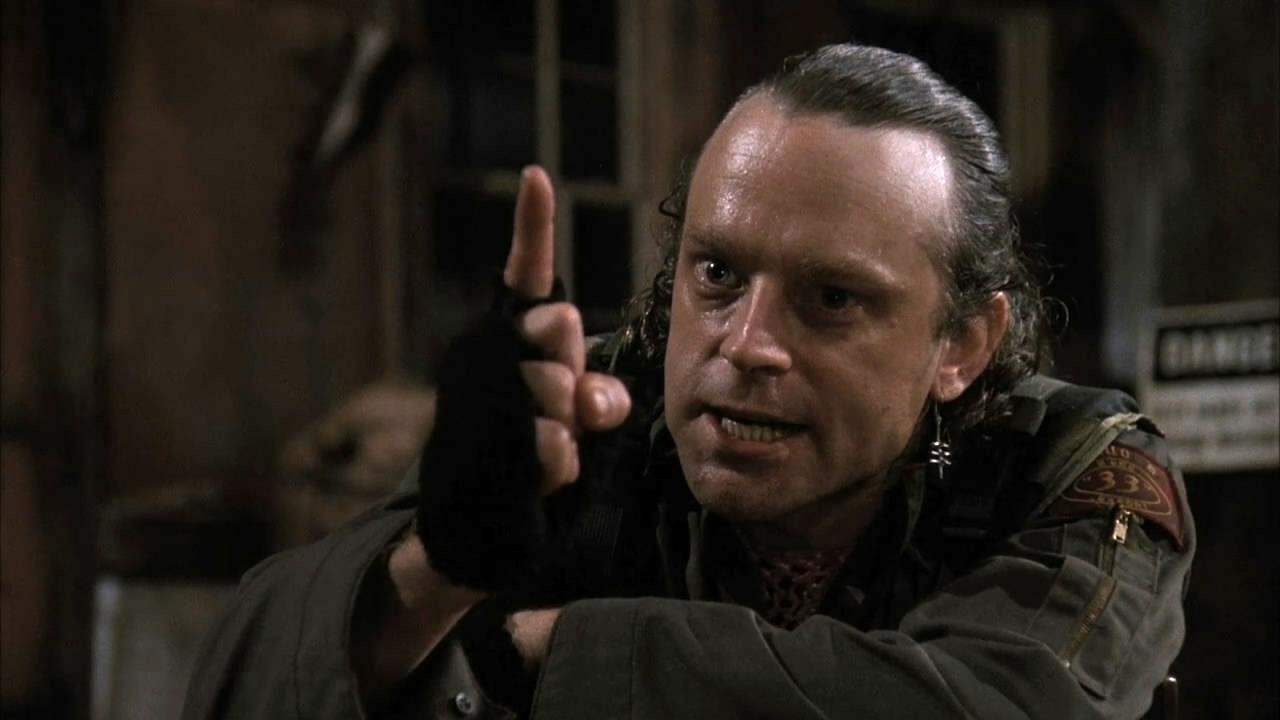 Brad Dourif in Graveyard Shift