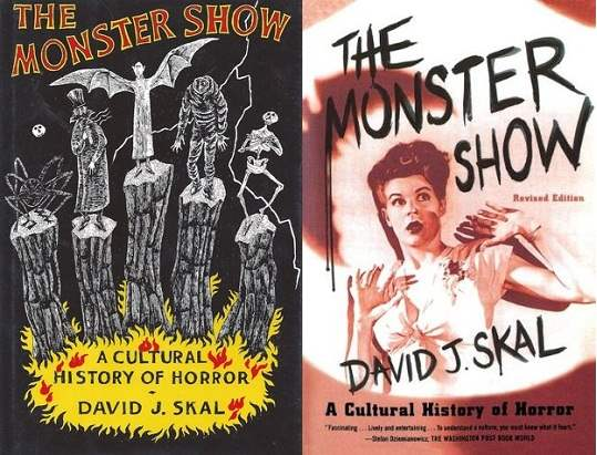 Cover images to The Monster Show by David J. Skal