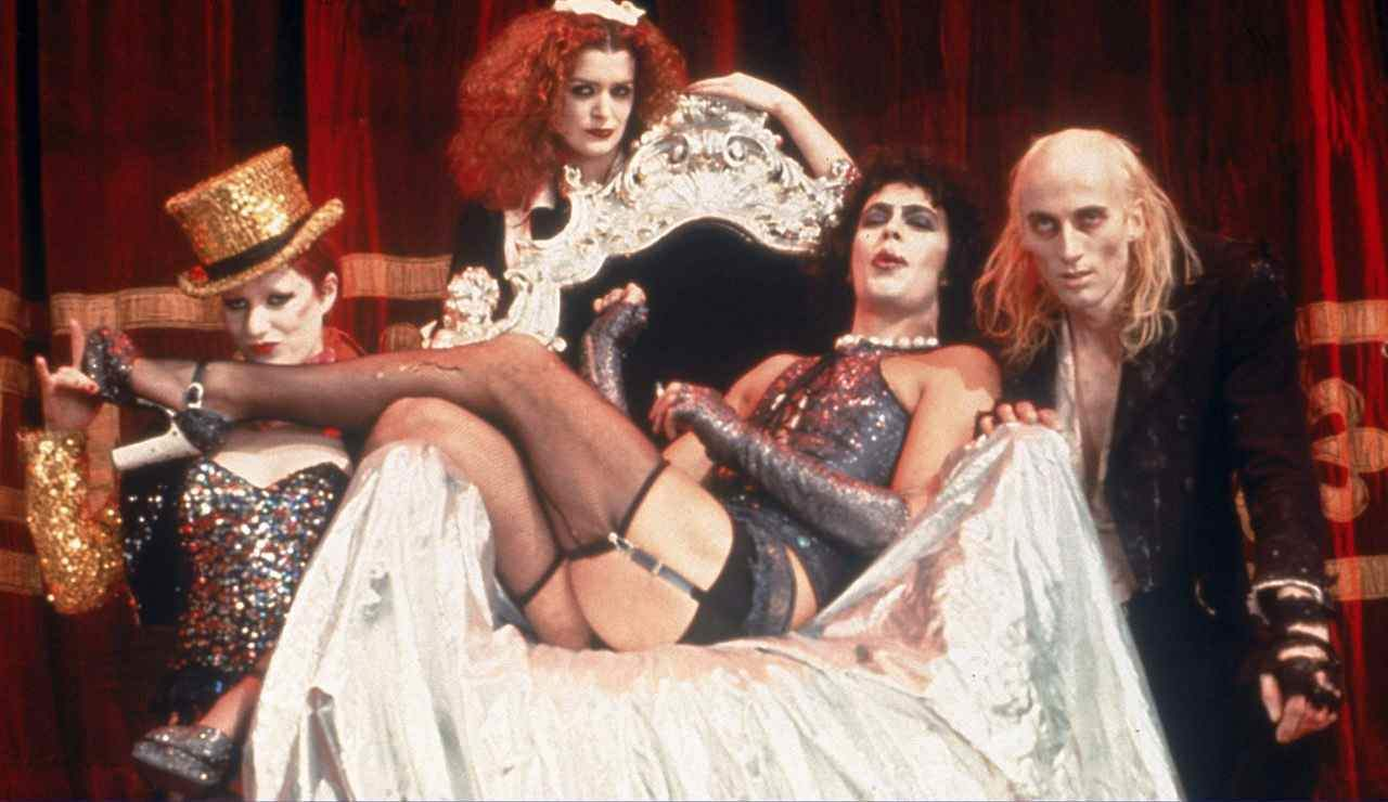 Tim Curry. The Rocky Horror Picture Show