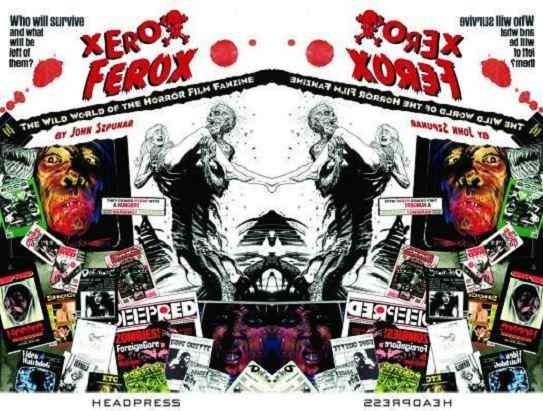 Cover image to Xerox Ferox by John Szpunar