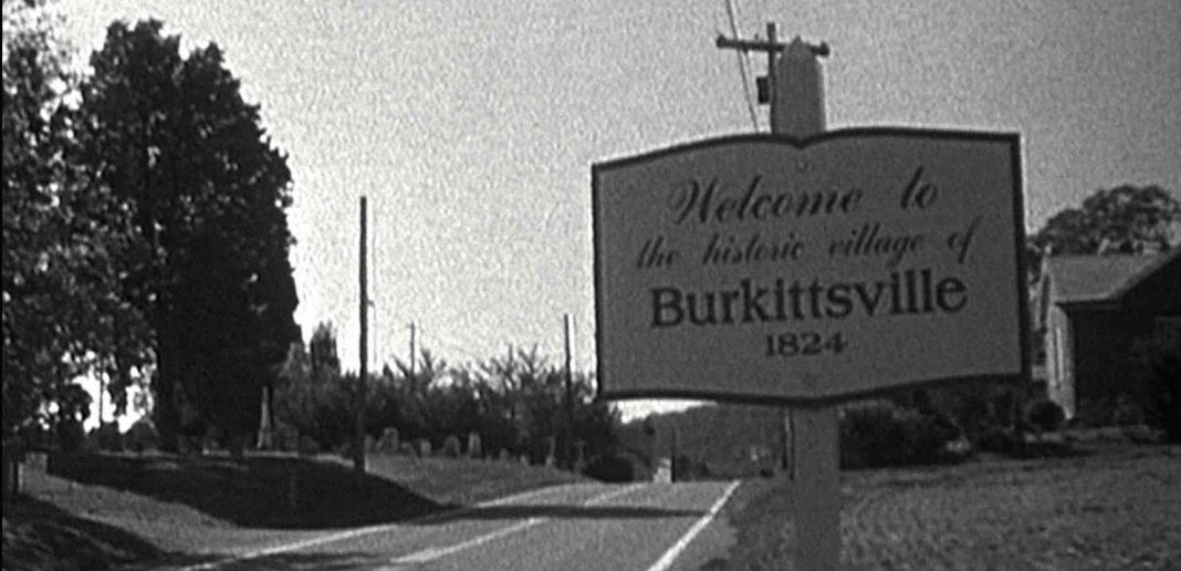 Blair Witch Project Burkitsville sign.