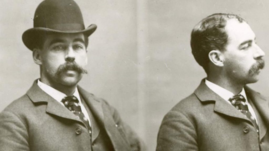 The worlds first documented serial killer H.H.Holmes.