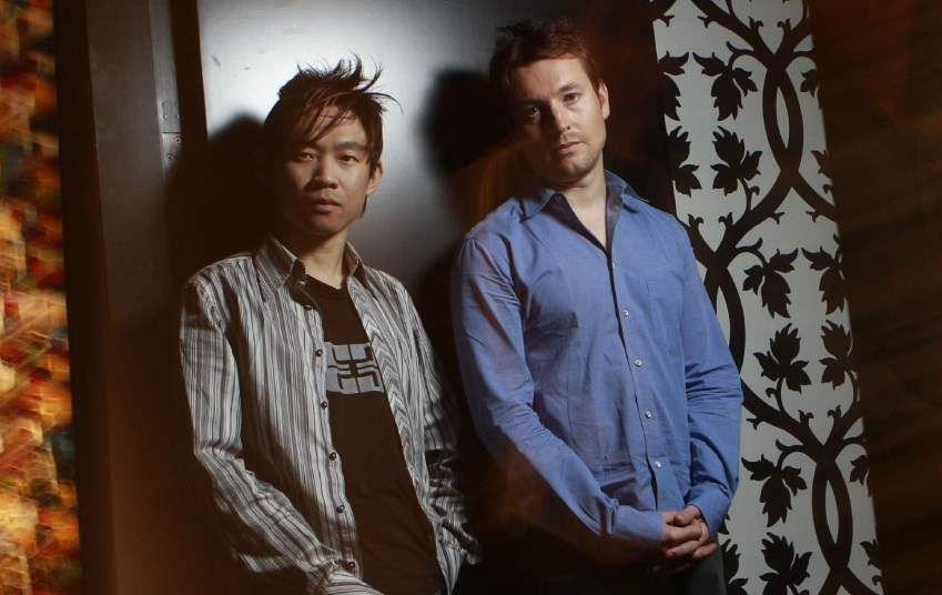 James Wan and Leigh Whannell, creators of Saw and Insidious