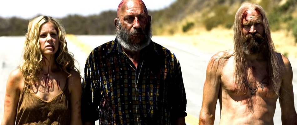 The cast of Rob Zombie's The Devil's Rejects.