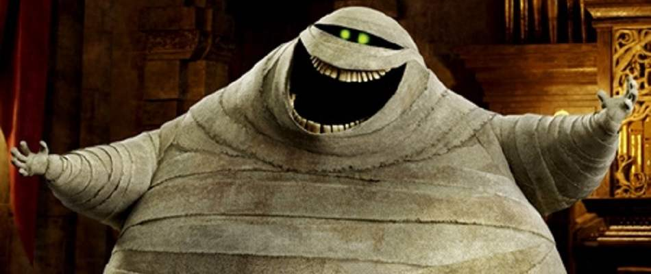 Murray the Mummy from 2012's animated Hotel Transylvania.