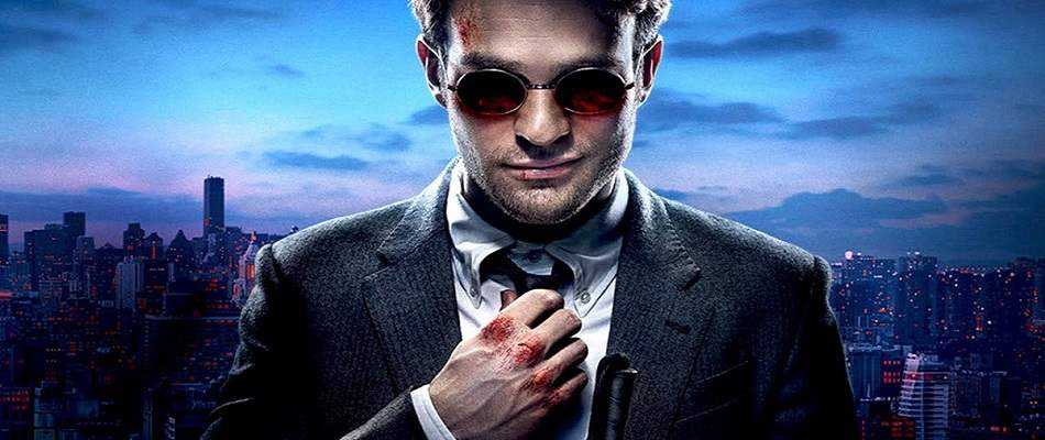 Promotional image from the Netflix original series Daredevil.