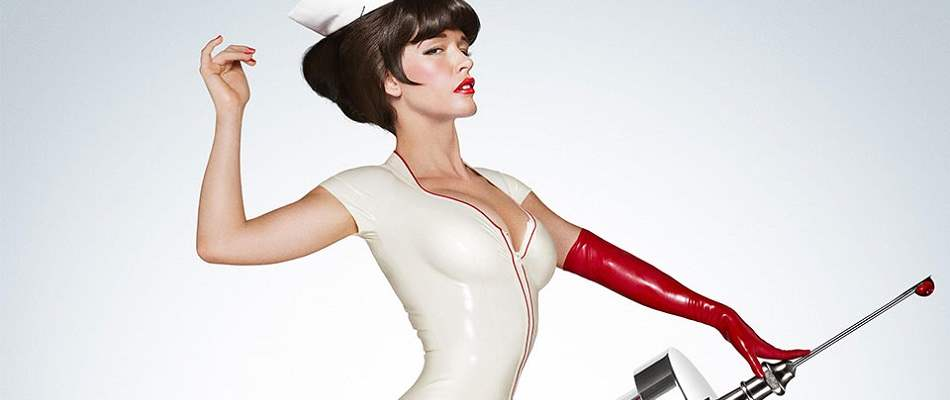 The beautiful lead of Nurse 3D.