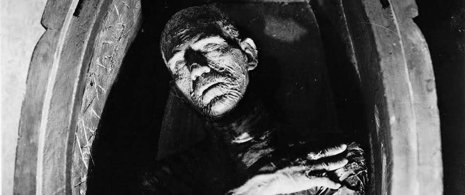 The Mummy from Universal Studio's 1932 film The Mummy.