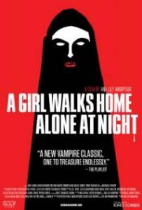 A Girl Walks Home At Alone