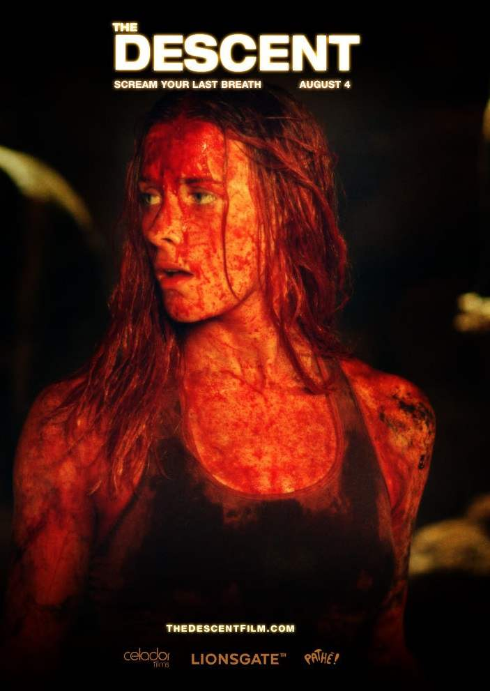 Sarah in The Descent