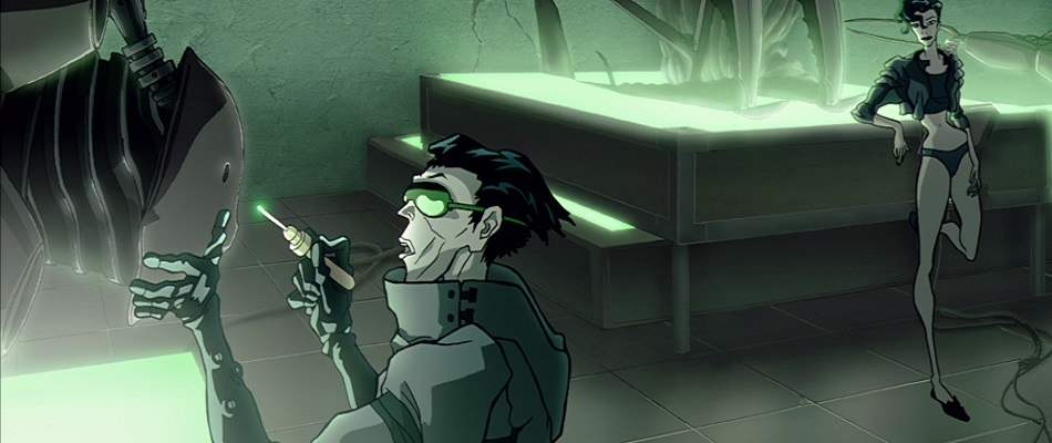 Animated scene from 2003's Animatrix.