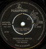 the Beatles Backmasking on their single for Rain