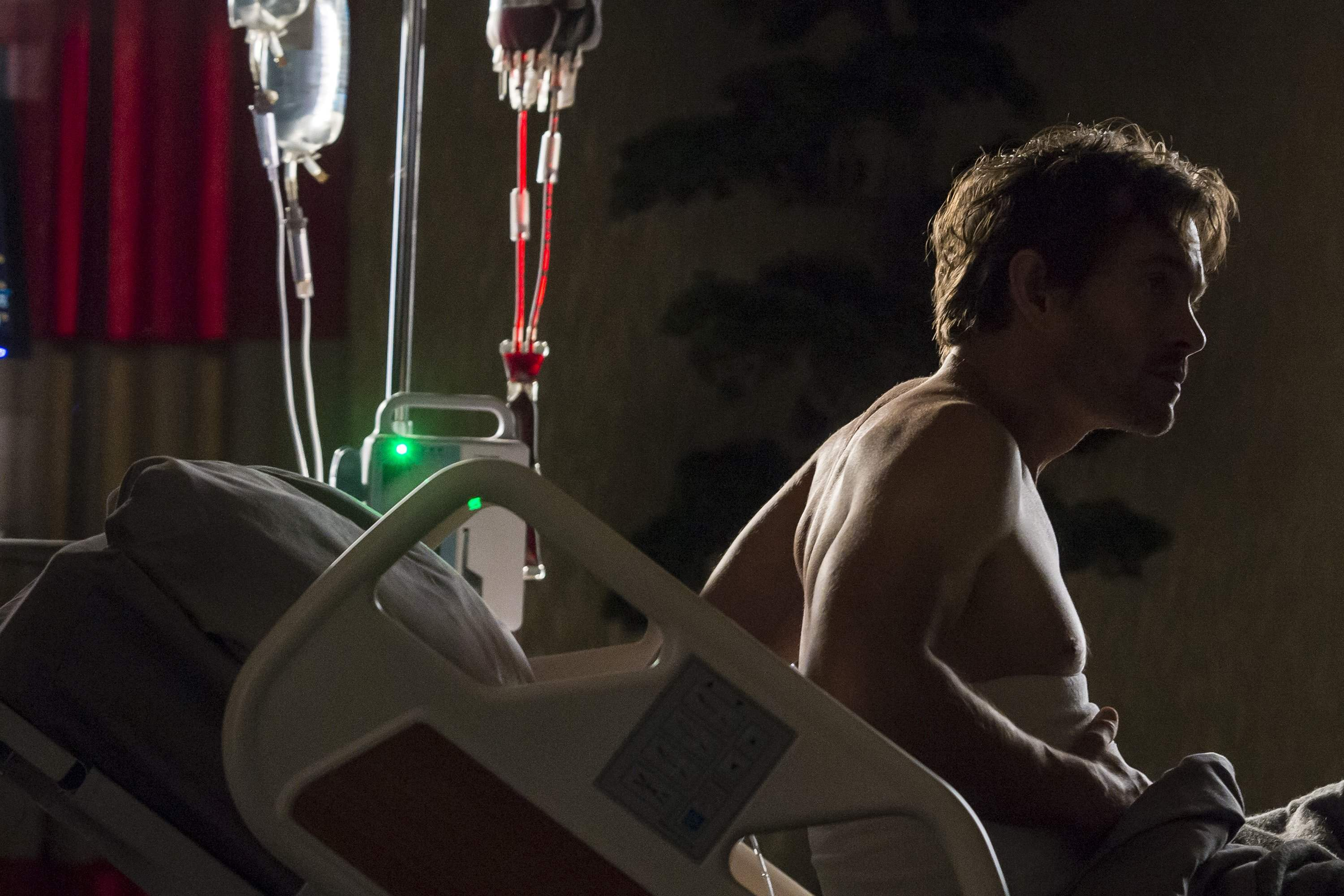 Will in hospital bed