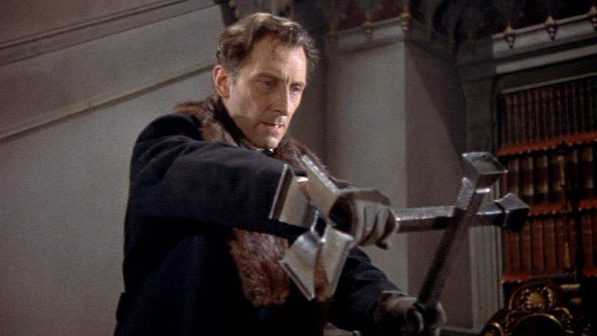 Van Helsing in Horror of Dracula