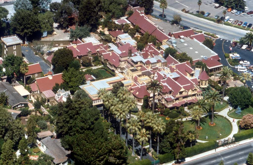 The house that death built the Winchester Mystery house.