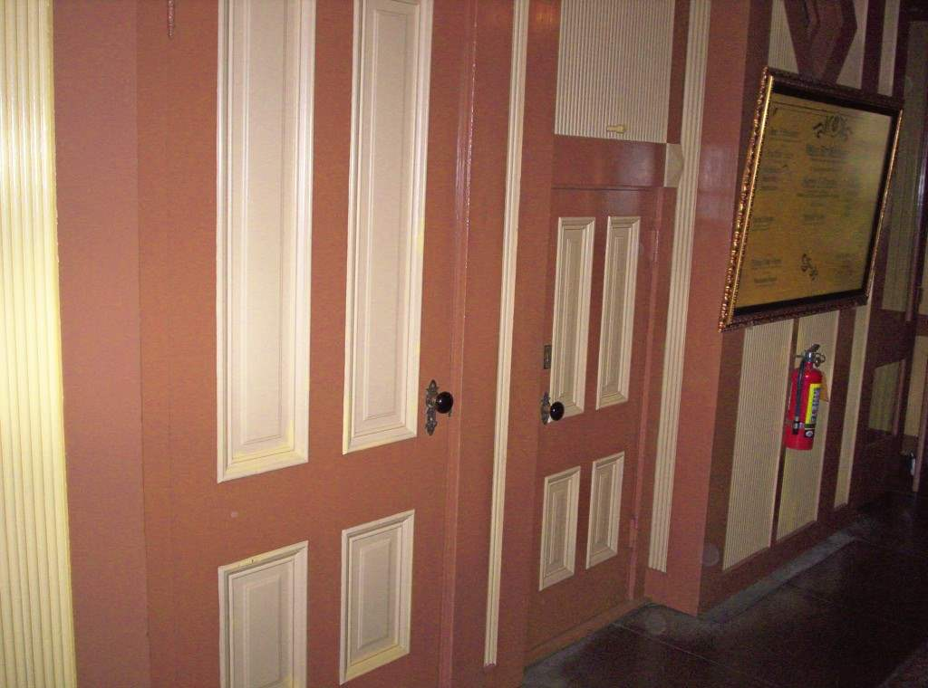 Small and large doors that have no meaning in the winchester house of mystery.