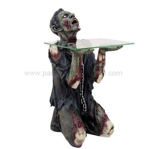 glass zombie table.