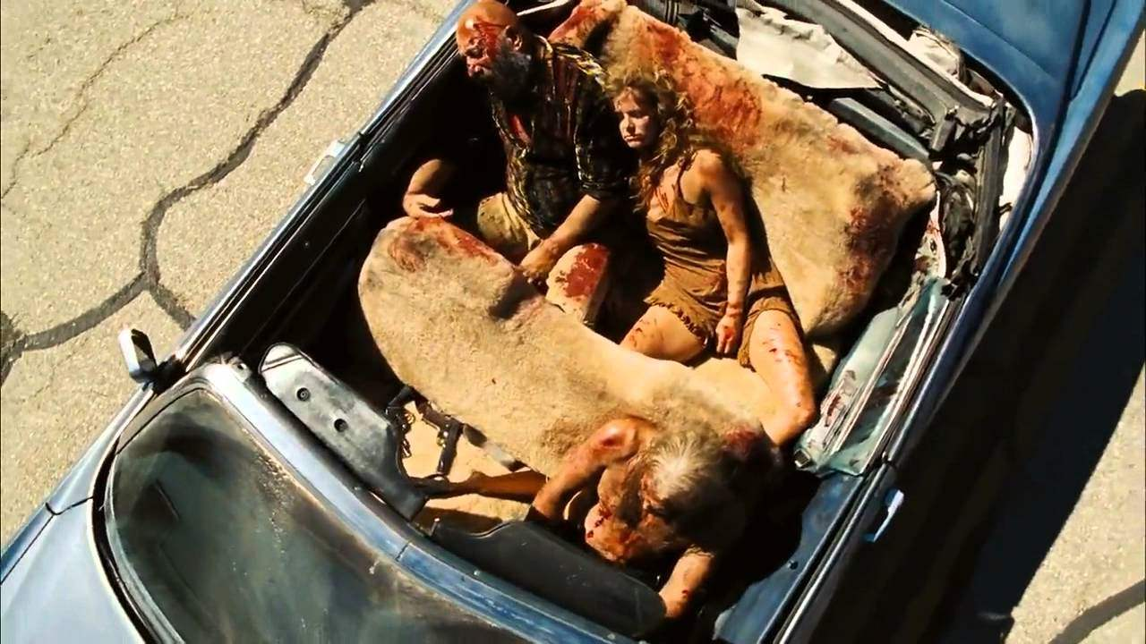 Bill Moseley, Sid Haig and Sheri Moon Zombie in The Devil's Rejects 2