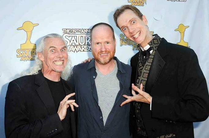 Camden Toy, Joss Whedon, and Doug Jones