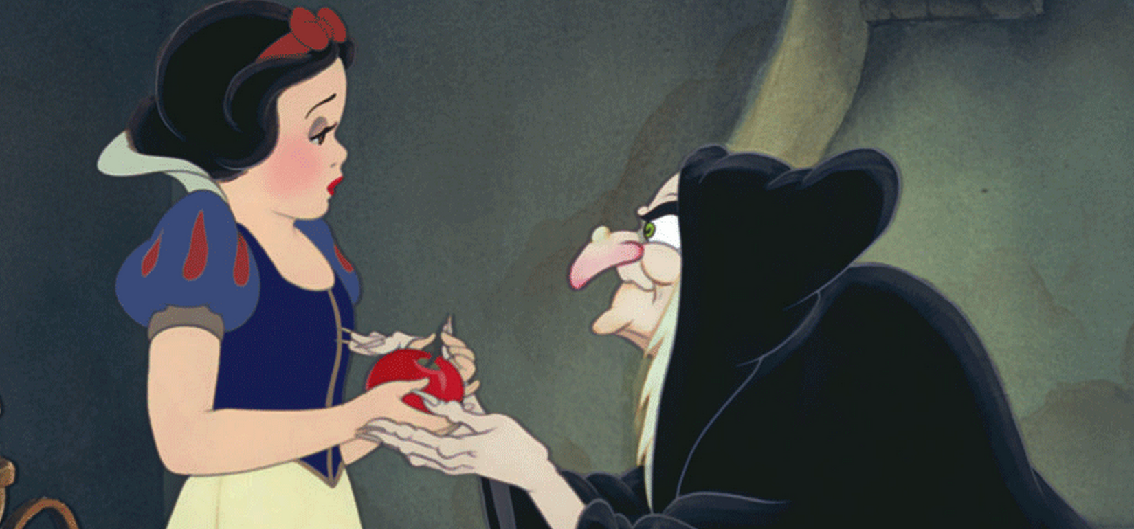 the crone in Snow White