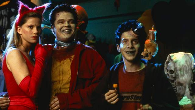 Seth Green and Elden Hensen as Mick and Pnub in Idle Hands
