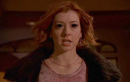 Willow Rosenberg on Buffy
