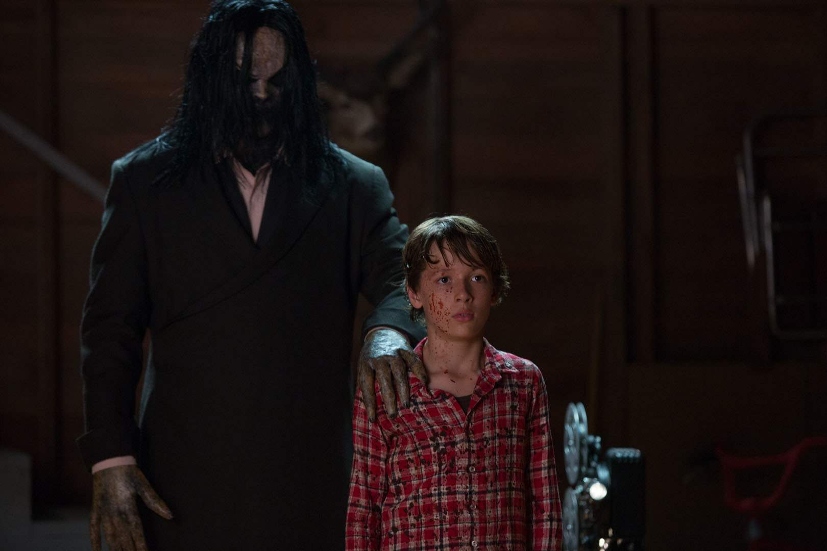 Bagul and Dartanian Sloan in Sinister 2