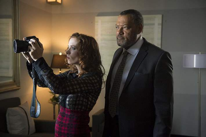 Freddie Lounds writes a disparaging article about the Red Dragon to bait him in episode 12 of Hannibal's third season.