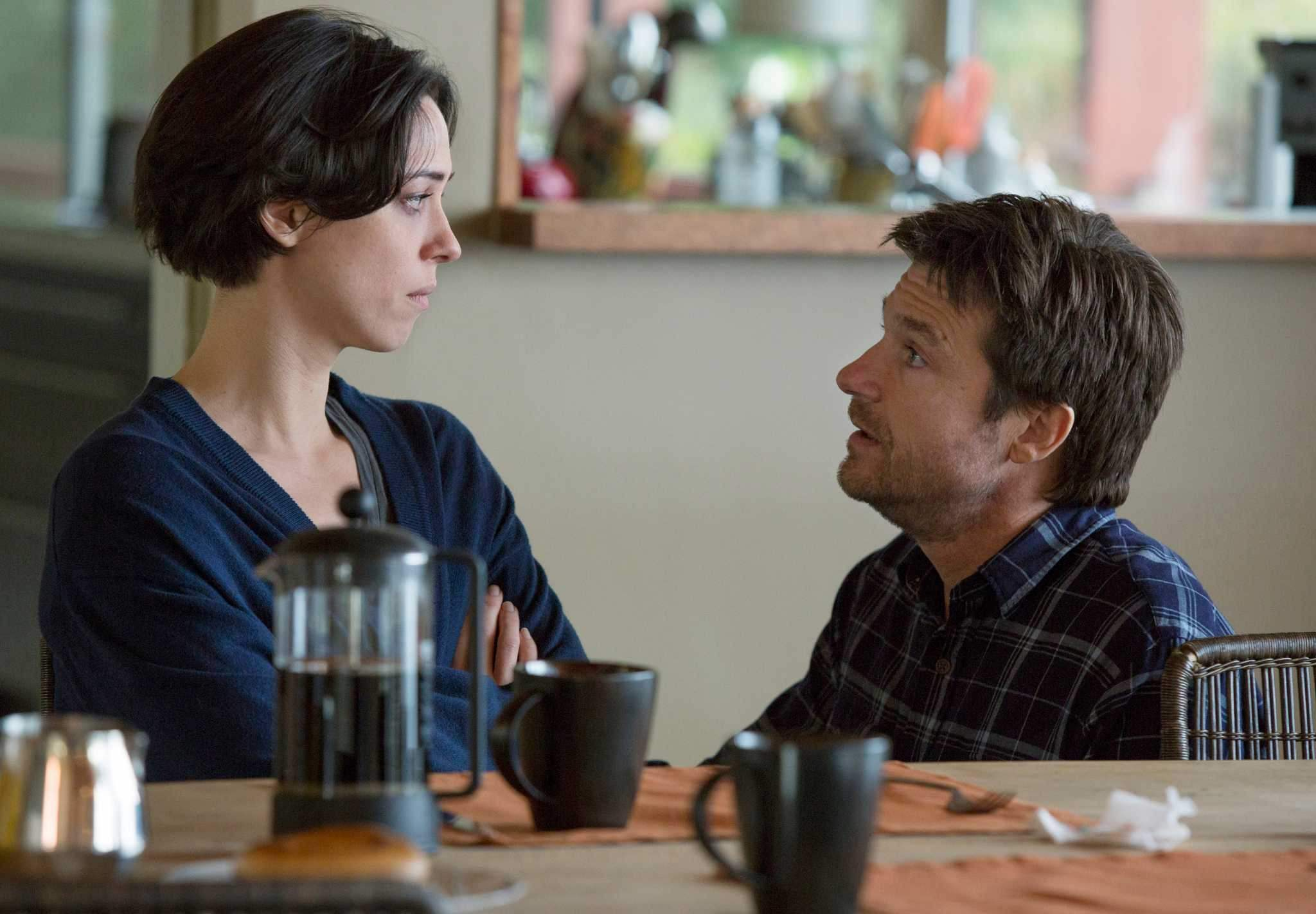 Rebecca Hall and Jason Bateman in The Gift