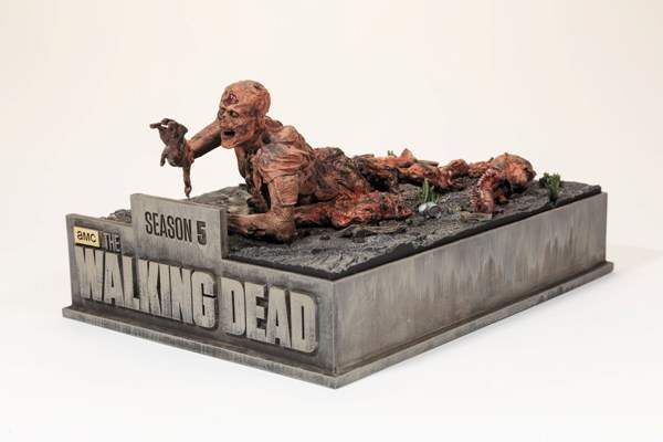 The Walking Dead special edition blu-ray box set.