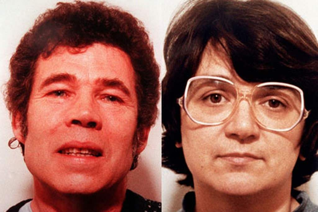 Notorious killer couple fredrick and rosemary west.