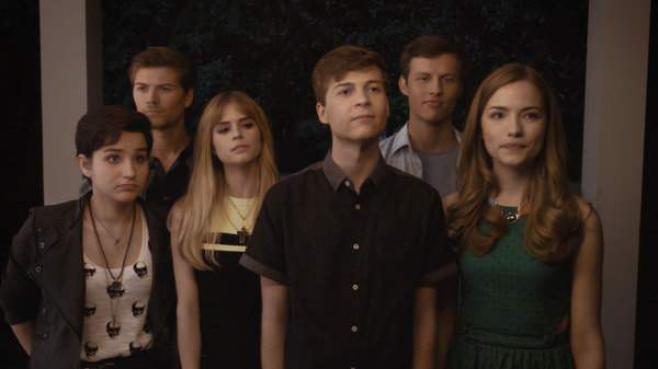 The cast of MTV's Scream