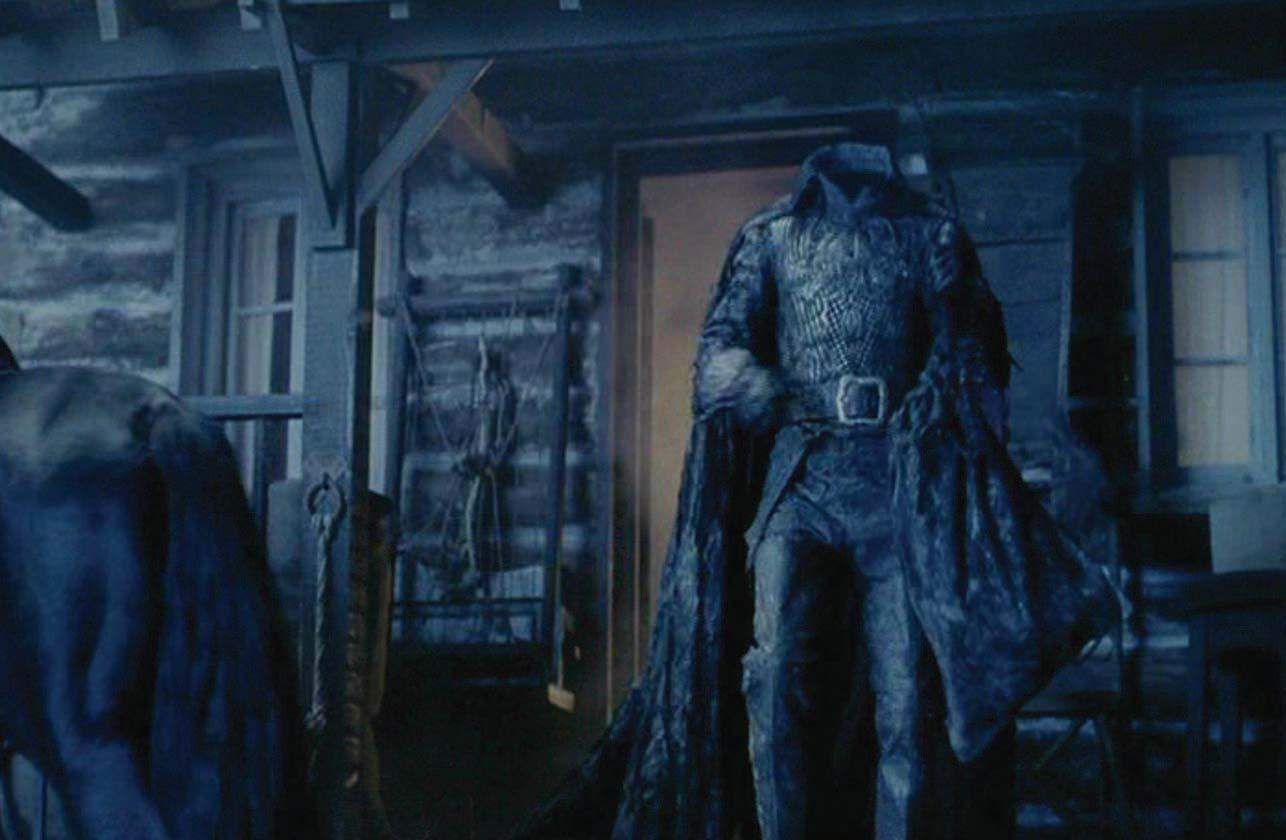 The Headless Horseman in Sleepy Hollow