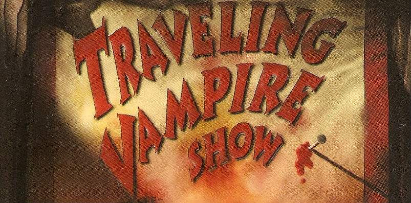 Traveling Vampire Show by Richard Laymon