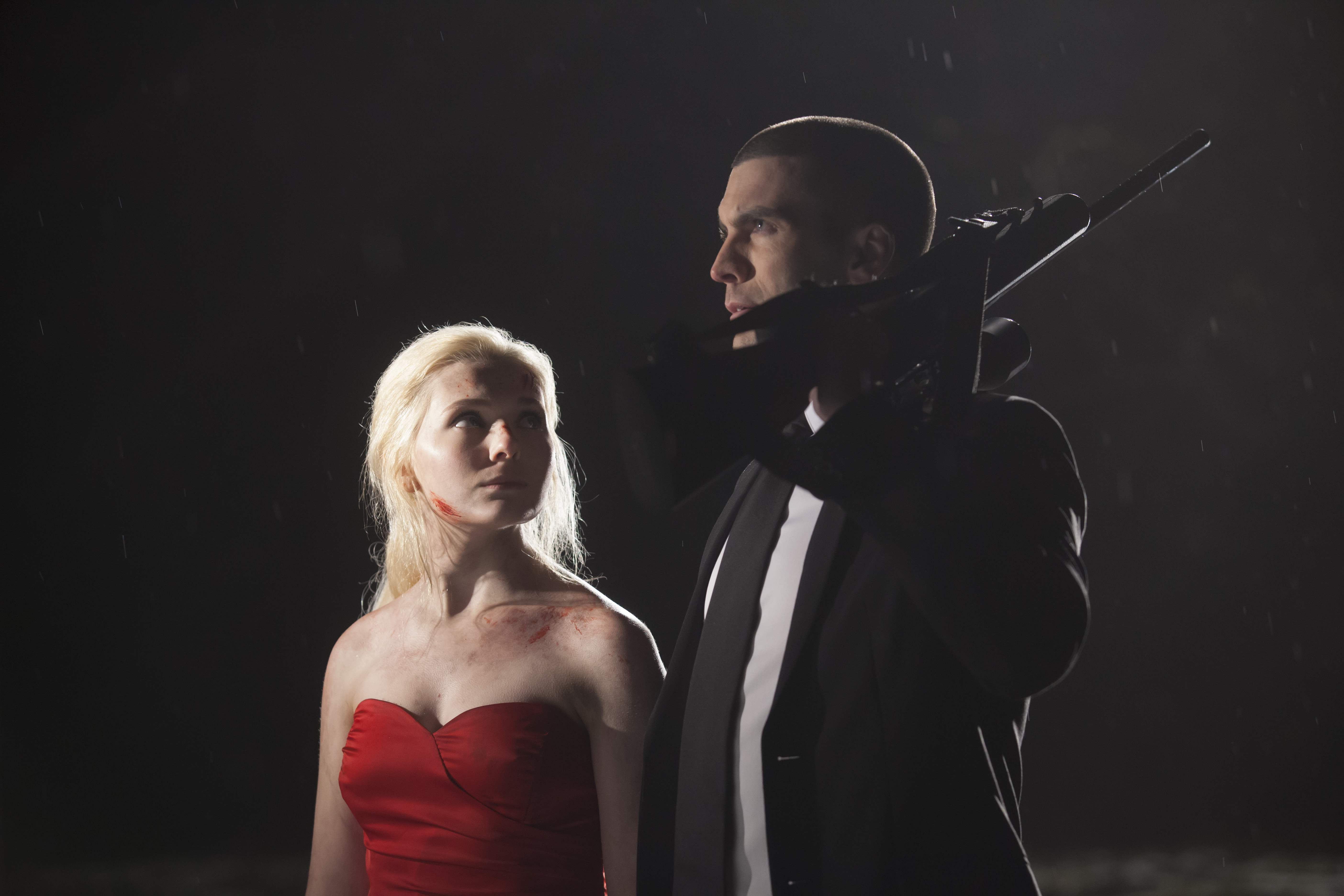Abigail Breslin and Wes Bentley in Final Girl