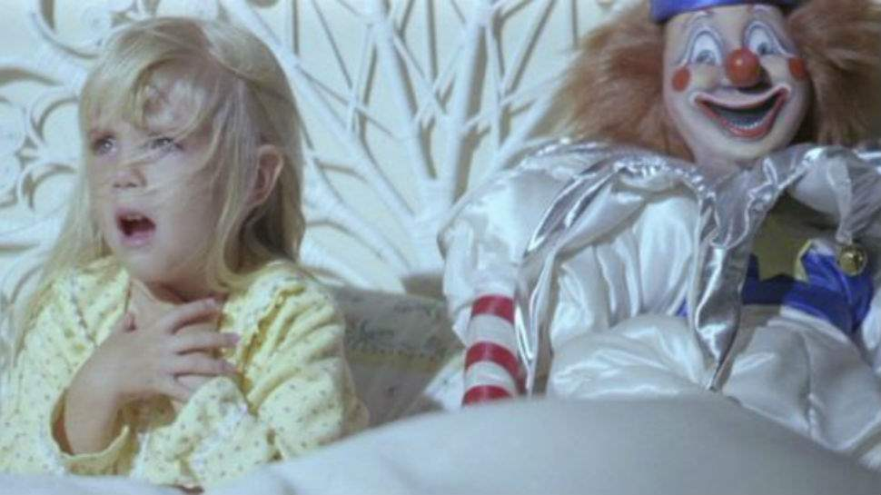 Young Carol Anne and her family fight supernatural forces in Poltergeist.
