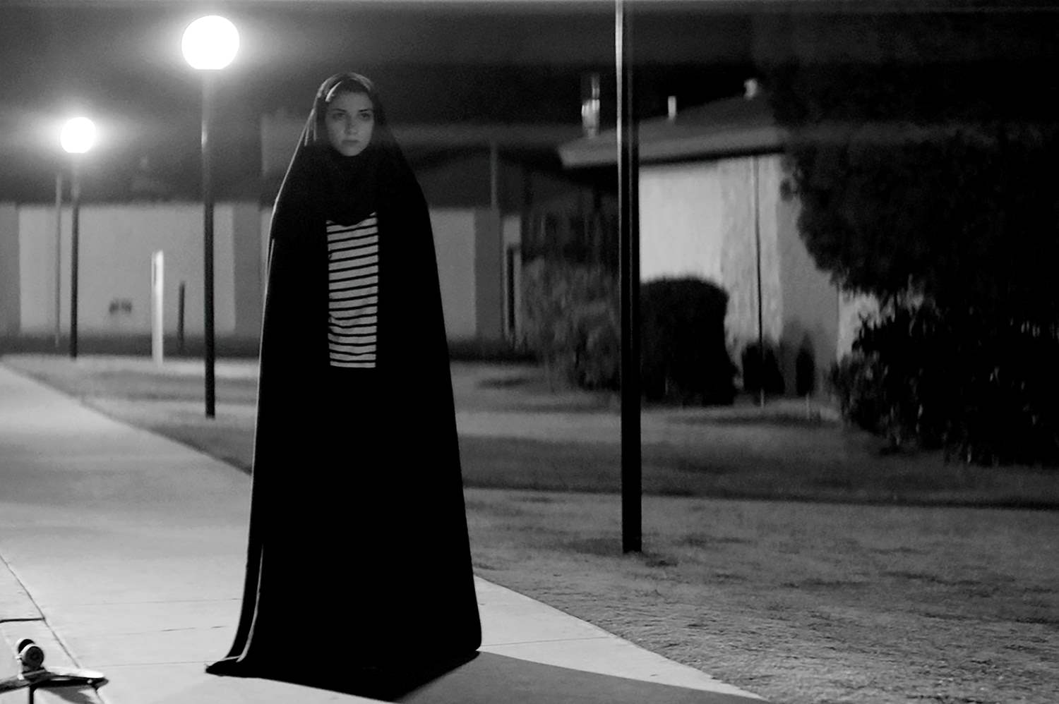 Sheila Vand in A Girl Walks Home Alone At Night
