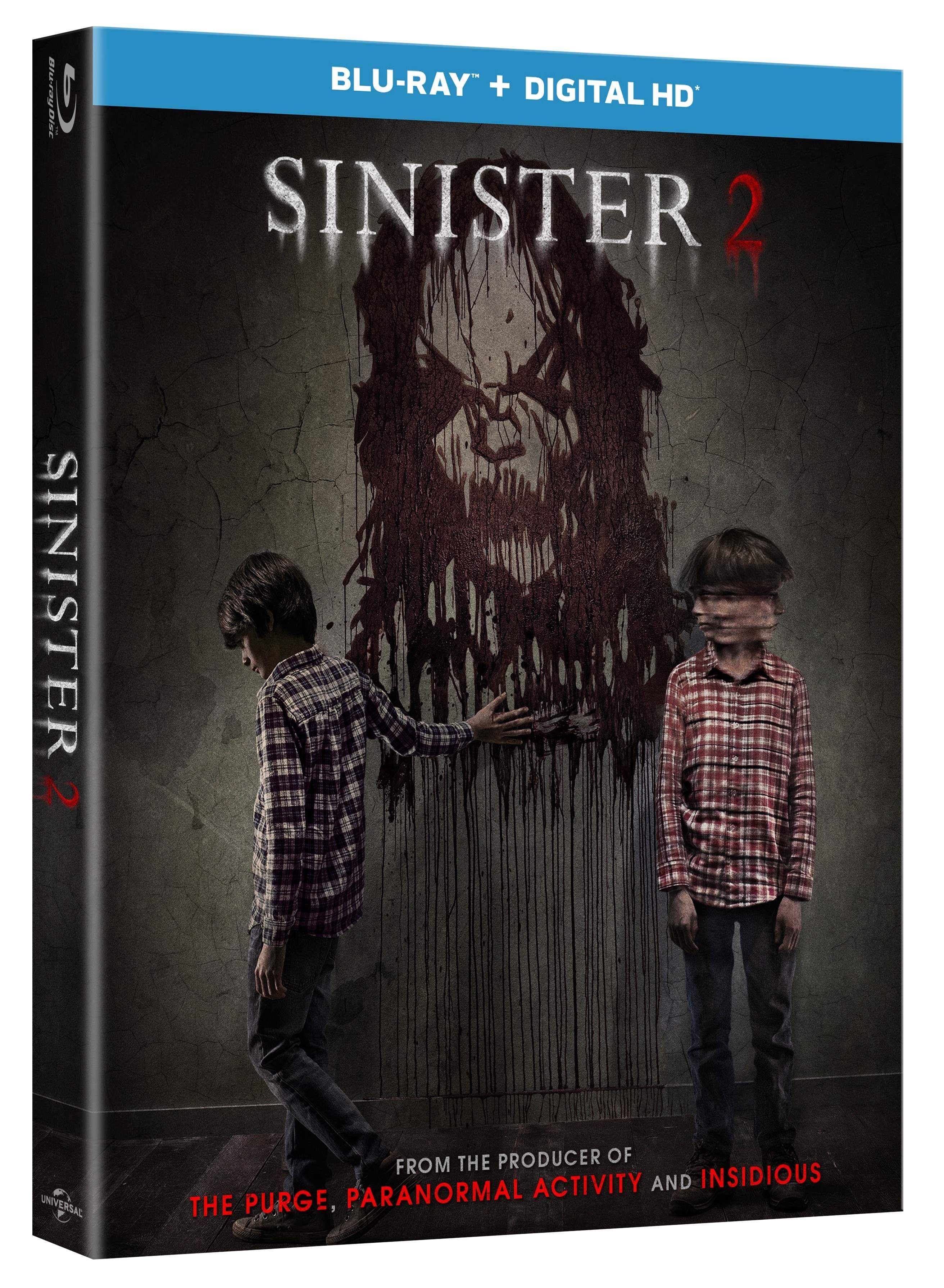 Blu Ray copy of Sinister 2 for giveaway