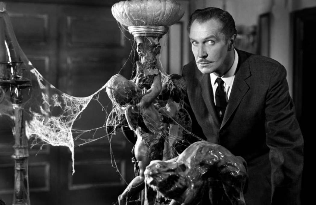 Horror icon Vincent Price in the William Castle classic, House on Haunted Hill
