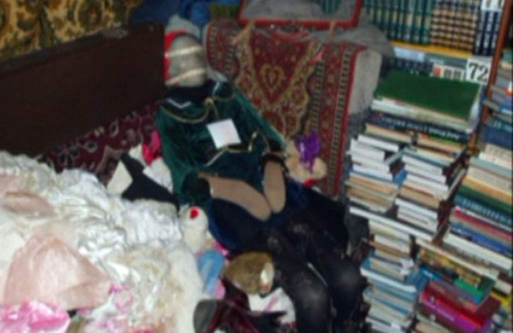Child mummy doll found in Anatoly Moskvins apartment,