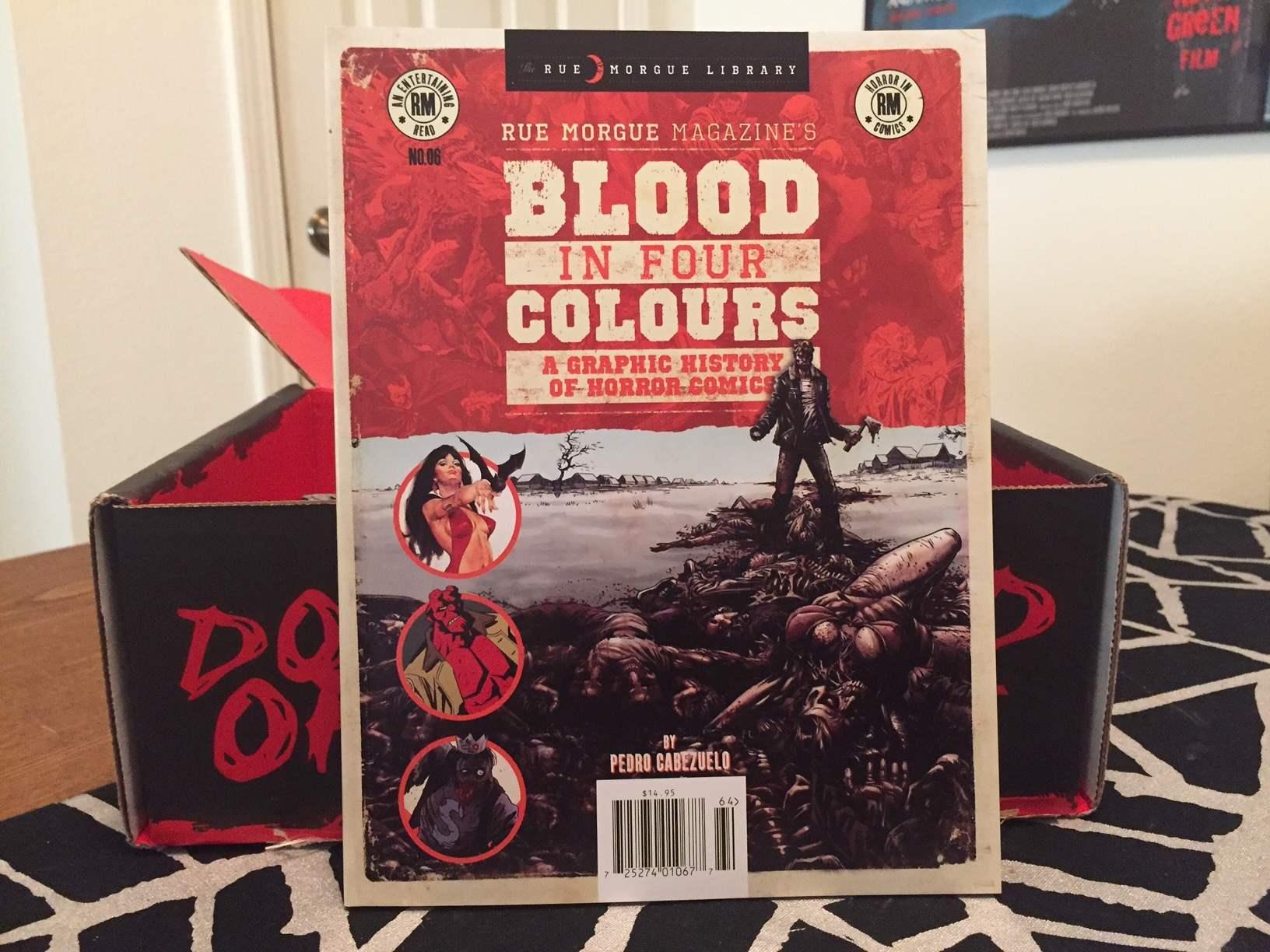 Special horror comics edition of Rue Morgue