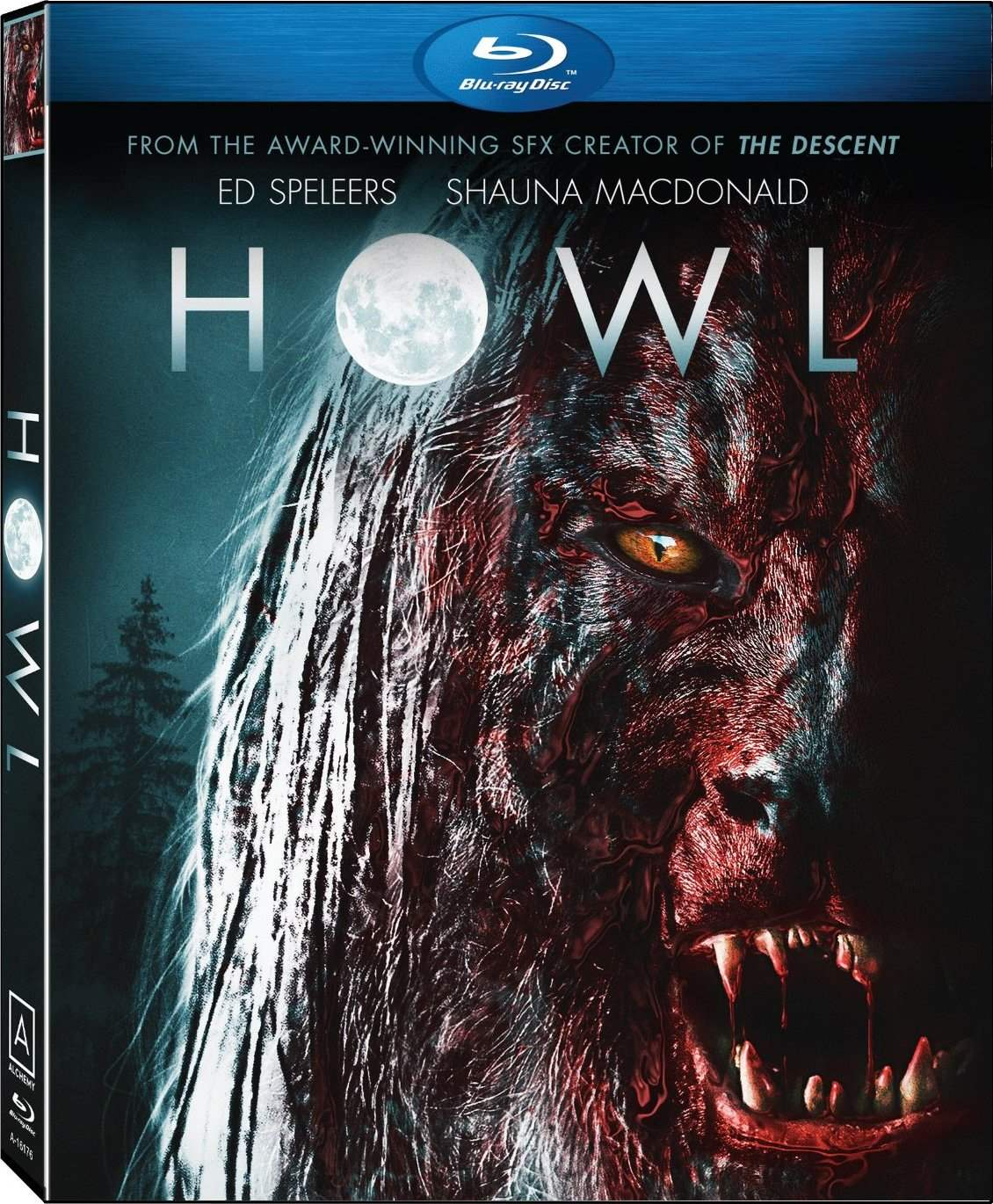 US Blu-Ray release cover for Howl