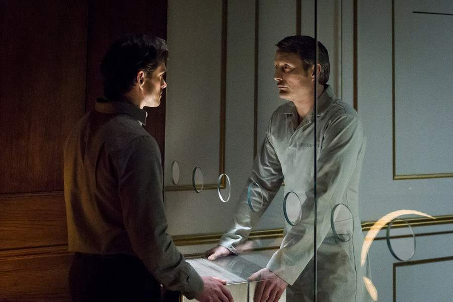 Hugh Dancy and Mads Mikkelsen in Hannibal