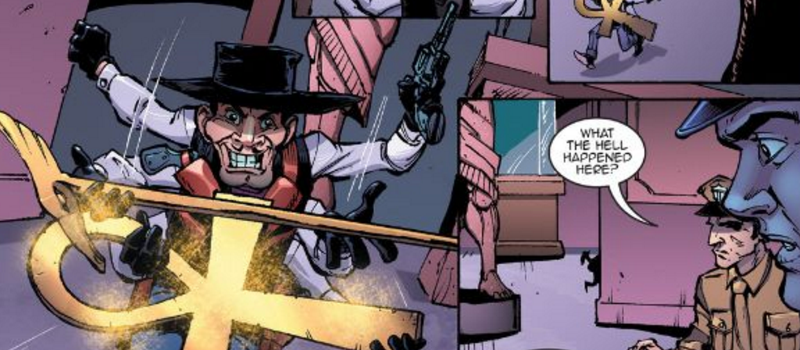 Six-Shooter in Puppet Master #10