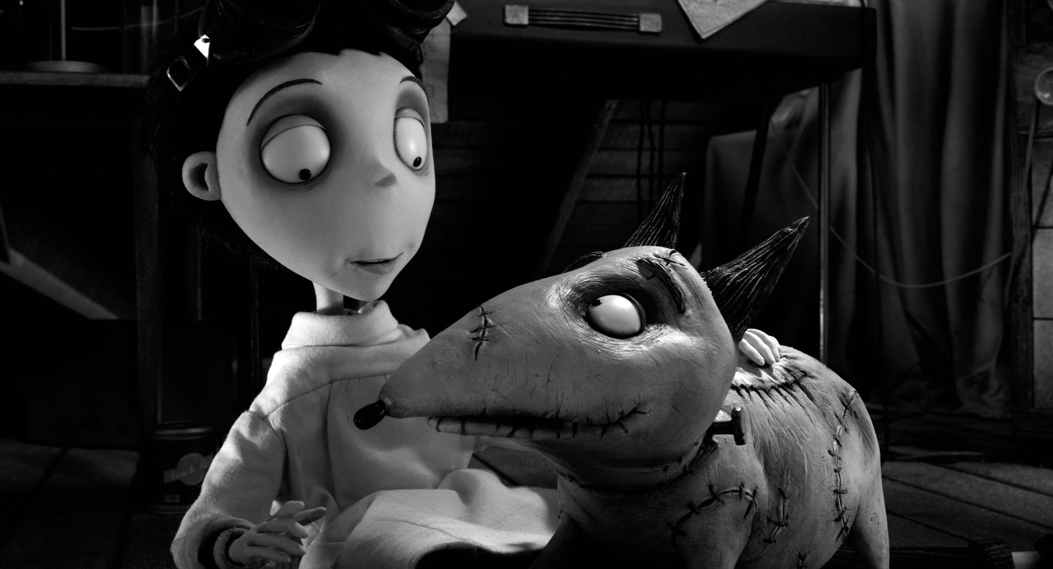 Victor and Sparky in Frankenweenie