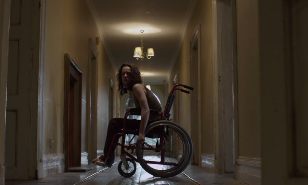 Wheelchair-bound January is at the mercy of her strange family in Estranged